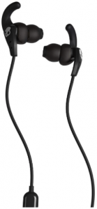 image of the Skullcandy kids 2 wired earbuds in black color