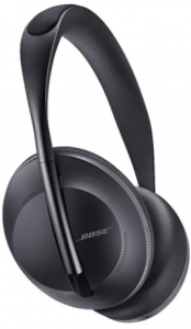 Black Bose Noise Cancelling Headphones