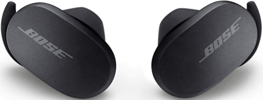 image of the Bose QuietComfort Noise Cancelling True Wireless 2 Earbuds, black color