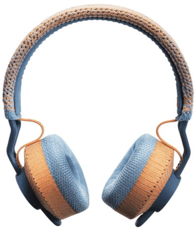 This is an image of an adidas RPT-01 On-Ear Wireless Bluetooth Headphones - Coral