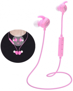 This is an image of Voguish Kids Headphones in pink color