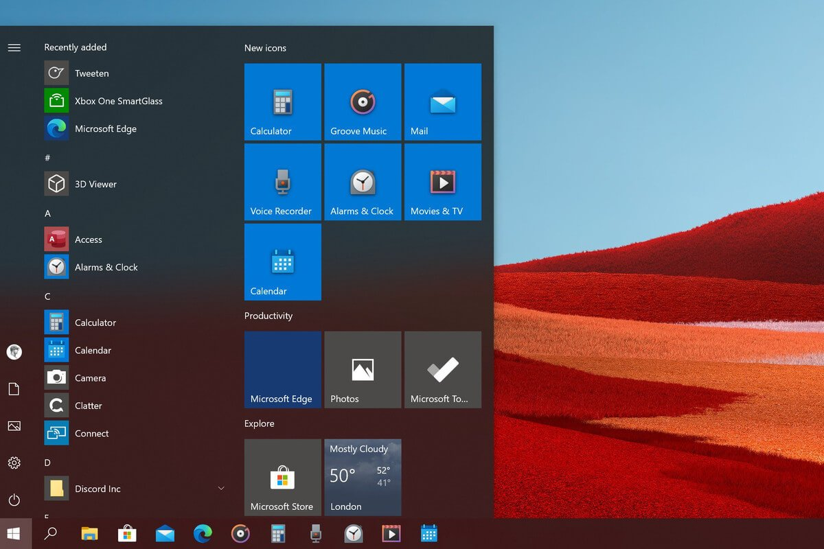 Windows 10 Press the windows key on the bottom left of your keyboard