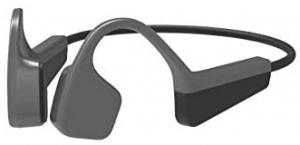 This is an image of the KppeX wireless Bone Conduction headphones - black