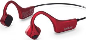image of the EKEN wireless bone conduction headphones - red