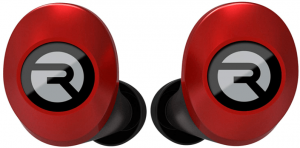 image of the Raycon E25 wireless Earbuds-red
