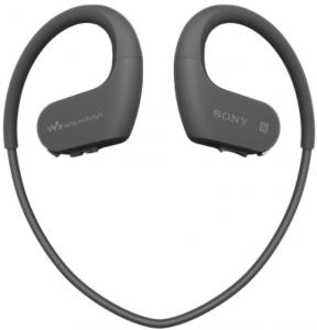 Image of the Sony Walkman NW-WS623 Bluetooth Wireless Headphones- black