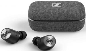 image of the SENNHEISER Momentum True Wireless 2 Bluetooth earbuds-black