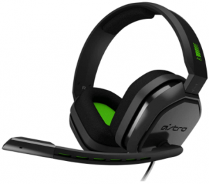 image of the ASTRO Gaming A10, gaming headset in green and black color