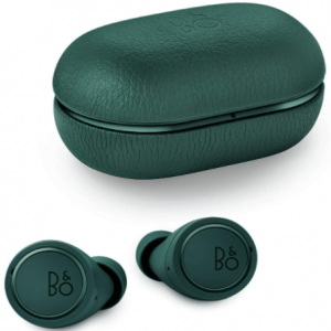 colose up image of the Bang & Olufsen Beoplay E8 3rd Generation Bluetooth wireless earbuds