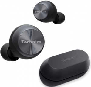 image of Technics Premium True wireless bluetooth earbuds with charging case-black