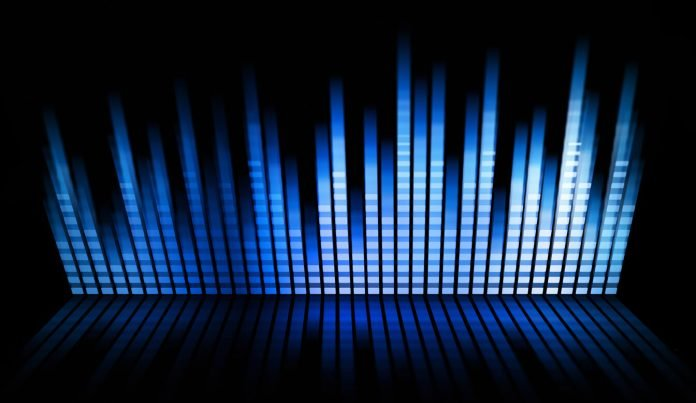 multicolored sound mixer