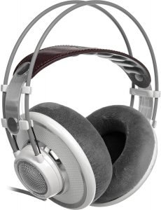 AKG K 701 over-head headphones, silver