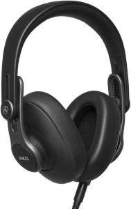 AKG K371 headphones, black in color