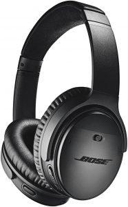 Bose QuietComfort 35 II Wireless Headphones, black in color