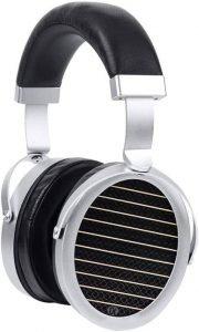 Gold Planar GL2000 Flagship Planar Magnetic Headphone, black and silver
