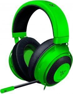 Razer Kraken Gaming Headset, green color