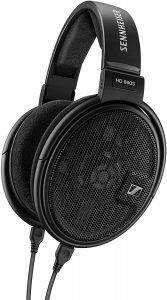 image of a black pair of headphones, Sennheiser HD 660 S headphones