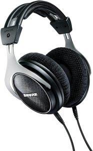Shure SRH1540 headphones, silver and black