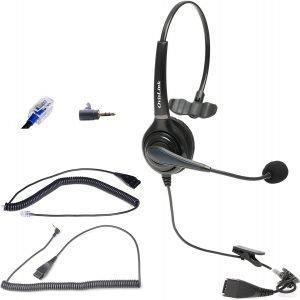 OvisLink Noise Canceling Call Center Headset