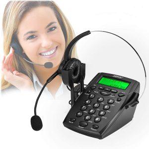 AGPtek Call Center Dialpad Headset Telephone