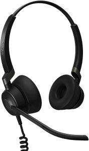 Jabra Engage 50 headset, black with mic