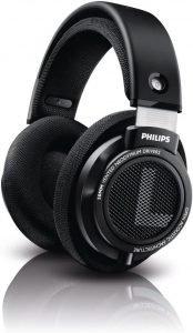 Philips Audio Philips SHP9500 HiFi Precision Stereo Over-Ear Headphones (Black)