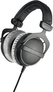 beyerdynamic DT 770 PRO 80 Ohm Over-Ear Studio Headphones in Gray